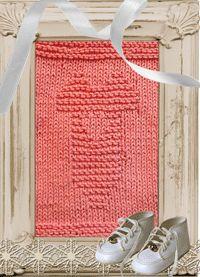 Knitted Washcloth Onsie