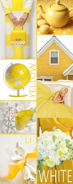 Good Evening my friends. Tonight Oct 8 let's pin a color mood board of the lovely combo colors as shown of Yellow and White. Happy pinning and Happy  Week ahead.❤❤