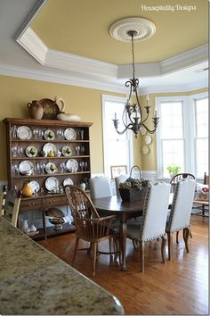 1000 Images About Tray Ceiling Dining Room On Pinterest