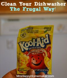 Clean Your Dishwasher with Kool-Aid!