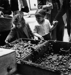 Les escargots Paris 1951 |¤ Robert Doisneau | 27 septembre 2015 | Atelier Robert Doisneau | Offical website