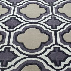 nuLOOM Hand-tufted Modern Moroccan Trellis Grey Rug (5' x 8') - Overstock™ Shopping - Great Deals on Nuloom 5x8 - 6x9 Rugs