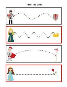 Preschool Printables: Knight Printable