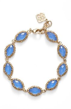 Kendra Scott 'Janna' Line Bracelet available at #Nordstrom But I want it in coral