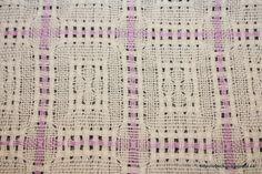 Pásli ovce valašky: Weaving - Huck Lace