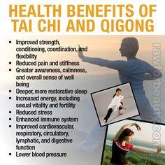 Benefits of Tai Chi & Qigong.
