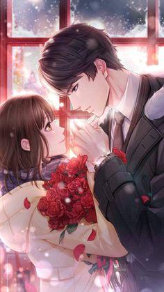 Kawaii anime, romantic anime couples, anime couples manga, cute anime c Couple Anime Manga, Romantic Anime Couples, Anime Love Couple, Anime Couples Drawings, Anime Couples Manga, Cute Anime Couples, Anime Guys, Manga Anime, Sweet Couples