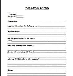 Leaders of the World - World History worksheets for 5th Grade ...