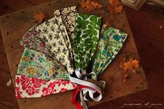 Classic vintage print headband hair scarf - garlands of grace fall winter 2011. $17.00, via Etsy.