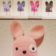 Crochet Bunny made by Ukke Pukkie. Pattern is from Lanukas . You can follow me at: https://instagram.com/ukke_pukkie/ ore https://www.facebook.com/pages/Ukke-Pukkie/453756897996728