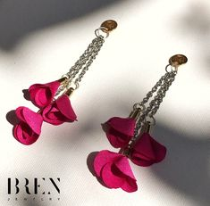 ં Flowers ં Greek Jewelry, Handmade Jewellery, Ring Bracelet, Photo And Video, Womens Fashion, Earrings, Flowers, Instagram, Style