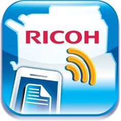RICOH Mobile PrintScan App Mobile PrintScan enables users to scan documents to and print from their mobile devices. Flexibility, mobility, improved productivity and ease of use are the hallmarks of the RICOH Mobile PrintScan.   It allows today's highly mobile workforce to print any document anywhere, antyime!