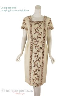 Vintage Dresses, Nice Dresses, Summer Dresses, Professional Dresses, Square Necklines, Hollywood Actresses, Sheath Dress, Bodice, Ready To Wear