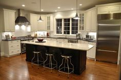 Black Kitchen Cabinets Design Ideas, Pictures, Remodel and Decor