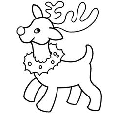 Photos coloriage de noel facile a dessiner
