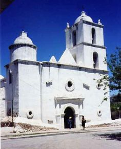 Kino mission established in 1687.  I had ancestors who helped build it.  My grandfather did a lot of resoration of it in the 1970's