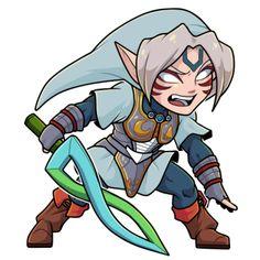 Toon Fierce Deity/Oni Link