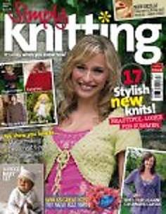 Ravelry: Simply Knitting 4, July 2005