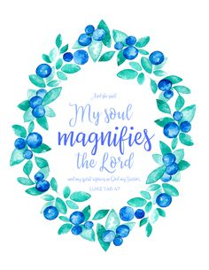 Get this Scripture printable with the Adoring His Attributes Prayer Journal! | My Soul Magnifies the Lord | Book of Luke | Virgin Mary | Songs of Worship | Prayers of Praise