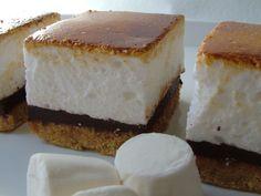 toasted marshmallow squares marshmallows treats cakes forward toasted ...