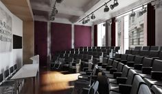 Small lecture hall | auditorium | lecture theater design concept.