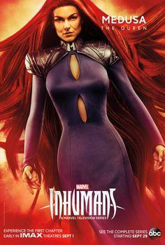 #FrecciaNera e tutti gli altri protagonisti di #Marvel's #Inhumans nei nuovi poster