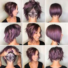 2017 Short Hairstyle - 1