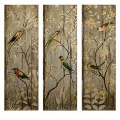 Find Calima Bird Wall Decor, Set of 3 in the Wall Decor category at Tractor Supply Co.Use the Calima Bird Wall Decor to add some style to your r Bird Wall Art, Hanging Wall Art, Metal Wall Art, Wood Art, Wall Décor, Wall Decor Set, Wood Wall Decor, Wall Art Sets, Room Decor