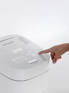 IH Rice Cooker [TOSHIBA RC-10VWG] | Complete list of the winners | Good Design Award