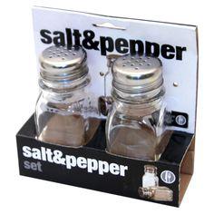 Home Basics 2 Piece Salt and Pepper & Reviews | Wayfair