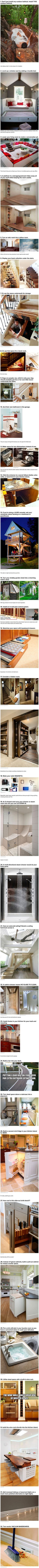 Here are some cool and geeky ways to pimp your home.