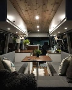Cool 49 Inspiring Van Camper Interior Decoration Ideas On A Budget. More at http://dailypatio.com/2017/12/29/49-inspiring-van-camper-interior-decoration-ideas-budget/