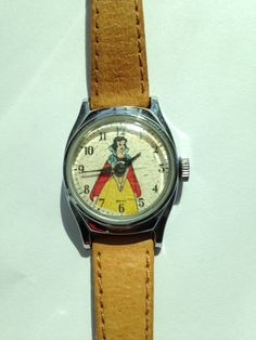 Vintage Snow White Watch 1939 on Etsy, $85.00