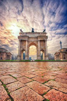 Porta Sempione Milano Italy