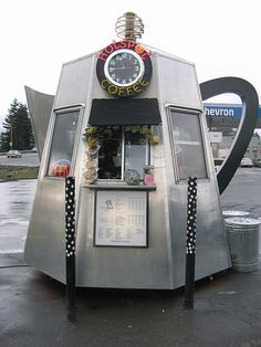 Cute coffee stand.