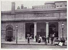 London's St Bartholomew's Hospital in 1896