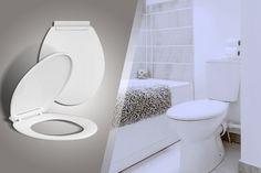 Slow-Close Toilet Seat