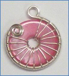 Snail Trail Spiral Earrings