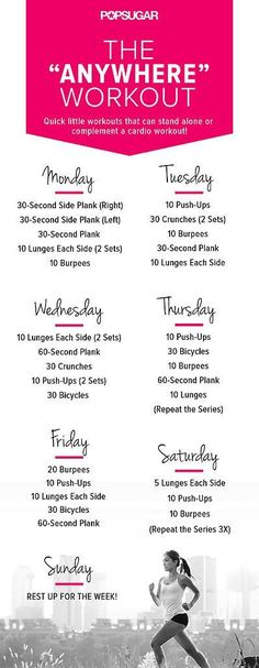 Anywhere WorkoutAnywhere Workout