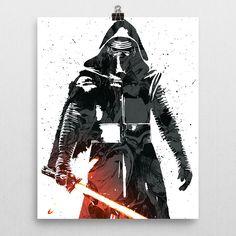 Star Wars Kylo Ren Poster
