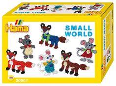 Hama Beads Fox & Mouse Small World Gift Set
