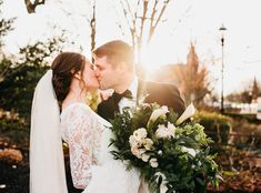 My nephew Bobby and his beautiful new bride! Bridal bouquet of winter greens with calla lilies and white spray roses, by Love in Flower Mount Holly, Mount Laurel, White Spray Roses, Cascading Bridal Bouquets, Calla Lilies, Local Florist, He's Beautiful, Real Flowers, Flower Delivery