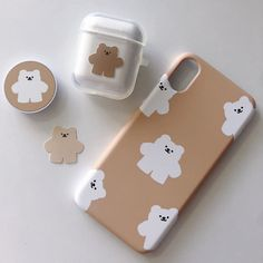 𝚌𝚛𝚢𝚜𝚝𝚊𝚕˚✧₊ – Stationery 2020 Cute Cases, Cute Phone Cases, Iphone Phone Cases, Phone Covers, Laptop Cases, Cream Aesthetic, Brown Aesthetic, Korean Phones, Airpods Apple