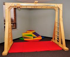 Indoor Therapy Gym | Swing & Swing Frames | e-Special Needs