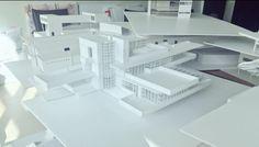 Frank Lloyd Wright - Fallingwater House model