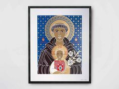 Coated paper Poster SANT'ANTONIO by TuttiSanti design FF3300 - Visual arts