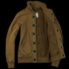 NIGEL CABOURN U.S. Clip Jacket in Dark Olive