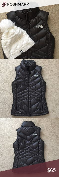 North Face Vest New without tags. Perfect condition! Color is black, interior is grey. Zipper front pockets.  Open to offers! The North Face Jackets & Coats Vests