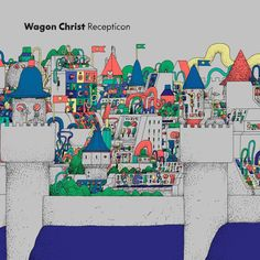 LUKEVIBERT's first WAGON CHRIST release in nearly a decade released on PEOPLE OF RHYTHM RECORDS on yellow colored double vinyl and CD. Cover art by illustrator CELYN BRAZIER (who has illustrated previous WAGON CHRIST releases on NINJA TUNE and ASTRALWERKS). LUKEVIBERThas been key in pioneering and developing the Cd Cover, Cover Art, Acid House, House 2, Trip Hop, Music For You, Compact Disc, Spoken Word