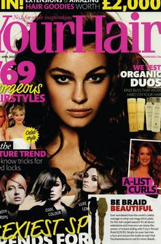 We loved seeing our clip in #fishtailplait featured in the latest issue of #YourHairMagazine . Get yours from...http://goo.gl/9UxJ4k